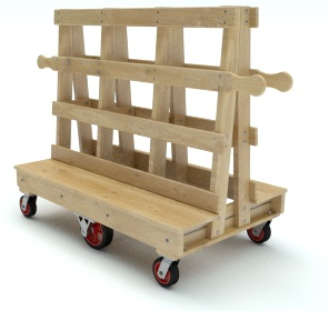 A Frame Trucks Amp Panel Carts Material Handling Equipment