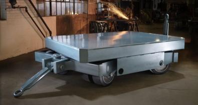 30 ton custom trailer