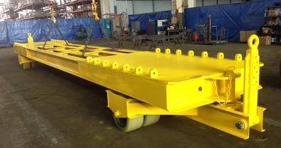 custom trailer 15 tons